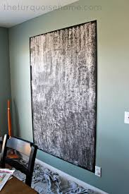 Blackboard Paint For Walls How To Make An Easy Diy Giant Magnetic Chalkboard