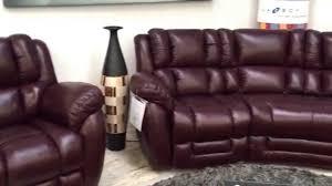 Lazy Boy Furniture Outlet La Z Boy Augusta Curve Corner And Recliner Chair In Bordeaux