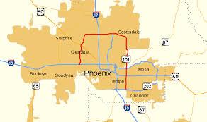 Map Az Arizona State Route 101 Wikipedia