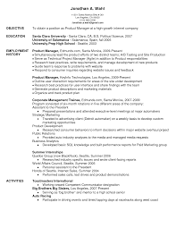 resume examples for project managers assistant manager resume example retail sample resumes livecareer sample product manager resume sample product manager resume manager resume example