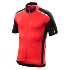 red cycling jacket clothing cycle surgery