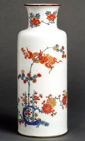 Miscellaneana  Early porcelain decorated again and again A good Chinese porcelain vase dating from about       later decorated in Holland in the