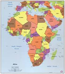 South America Map And Capitals by Large Detailed Political Map Of Africa With All Capitals U2013 1996