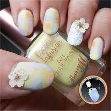 nail dried flower decoration u0026 silver nail dust nail glitter