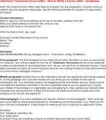 University job cover letter