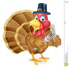 pilgrims on thanksgiving pilgrim hat thanksgiving cartoon turkey holding knife and fork