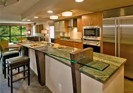 Open Home Office Open Kitchen Design With Island Awesome Home Office Exterior For