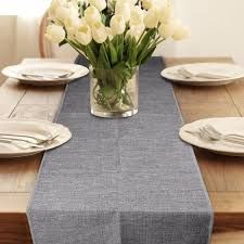 aliexpress com buy 2pcs burlap table runner wedding decoration