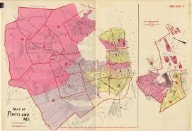 Map Of Portland Maine by Richards Atlas Of The City Of Portland 1914 Portland Public