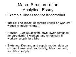 Example of a character analysis thesis statement
