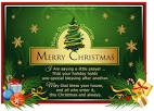 Merry Christmas Greeting Pictures with Messages Free.