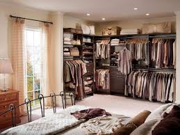 Top  Styles Of Closets HGTV - Master bedroom closet designs