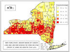 Radon Maps of New York State by County and Town