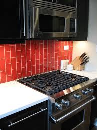Glass Subway Tile Backsplash Kitchen Kitchen Style White Granite Countertop Glass Tile Kitchens