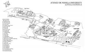 Metro Manila Map by Campus Map Ateneo Global