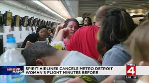 spirit halloween in las vegas detroit travelers affected by spirit airlines cancellations