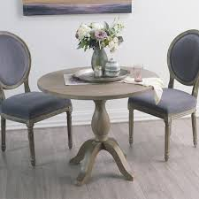 Chairs For Kitchen Table by Round Weathered Gray Wood Jozy Drop Leaf Table World Market