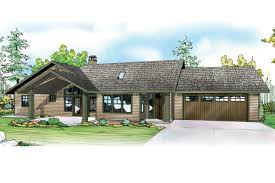 interesting ideas one story house plans with attached garage 12
