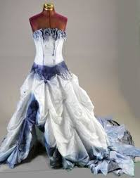 Wedding Dress Halloween Costume Corpse Bride Emily Wedding Dress Halloween Costume