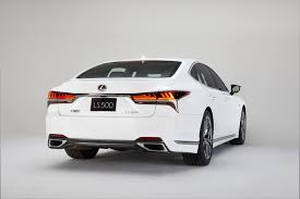 lexus ls model years this is the 2018 lexus ls 500 f sport the drive