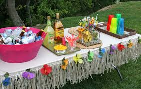 Home Party Ideas Luau Party Decoration Ideas The Classy Outdoor Luau Decorations