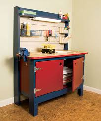 Plans For Building A Wooden Workbench by How To Build A Kid U0027s Workbench