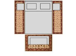 Rug Sizes For Living Room Bedroom King Size Bed With 8 U0027 Runners U0026 4x6 Rug Rugs Pinterest