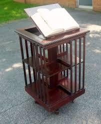 revolving bookcase ebay