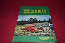 new holland 80 wire tie baler dealers brochure yabe11 u2022 17 99