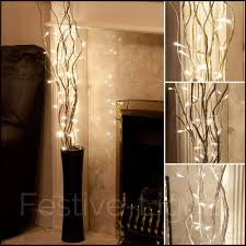 Decorative Home by 87cm Indoor Mains Plug Christmas Home Nordic Fairy String Led Twig