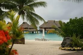 bora bora nui over the water bungalows paradise