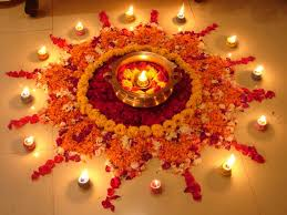 Diwali Decoration In Home To Use Flowers For The Decoration On Diwali