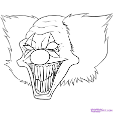 scary coloring pages online for kid 10289