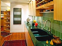 Glass Kitchen Tile Backsplash Ideas Kitchen Glass Tile Backsplash Ideas Pictures Tips From Hgtv Green