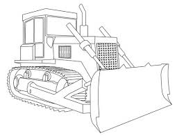 bulldozer coloring page ready for print get the image 341061