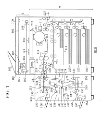 patente us20050232656 image forming system control method
