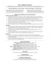 Resume Examples For Food Service by Sample Resume Marketing Sales Sporting Goods Retailer Sample