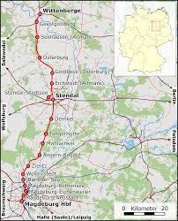 Magdeburg-Wittenberge railway