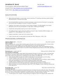 resume format for marketing professionals cover letter digital media professional resume digital media cover letter creative digital media resumes examples of creative graphic professional marketing social manager resume example