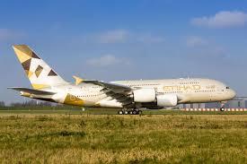 etihad airways receives first airbus a380