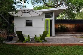 Backyard Office Prefab by Prefab Garage Kits And Plans Studio Shed