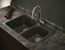 Blank Sink With Stainless Steel Faucet Google Search - Granite kitchen sinks pros and cons