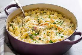 Pasta Recipes Ham And Cheese Pasta Bake Recipe Simplyrecipes Com
