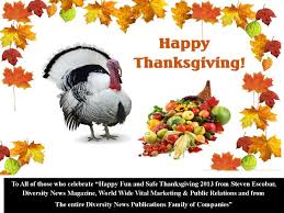 day of thanksgiving 2013 holidays diversity news magazine published by diversity news