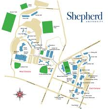 Bc Campus Map Shepherd University Shepherd University Women U0027s Basketball