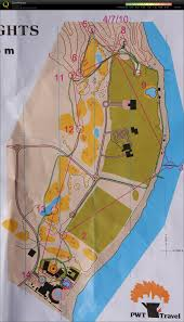 Map Egypt Orienteering Map In Egypt
