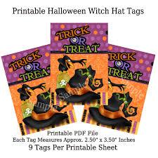 Printable Halloween Bags Diy Printable Halloween Craft Toppers Tags U0026 Bags