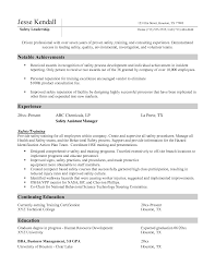 Sample Resume Qualifications List by Facility Manager Resume Resume For Your Job Application