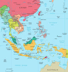 World Map Asia map of southeast asia indonesia malaysia thailand