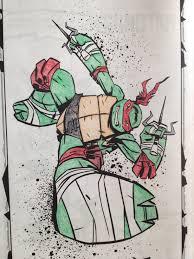 ninja turtle hopscotch tigers